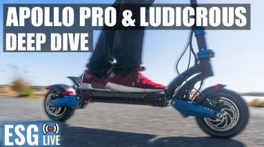 Apollo Pro & Ludicrous Deep Dive - Fastest Scooter Ever Tested? | Live Show #48