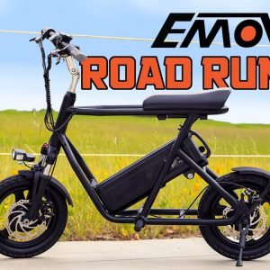 PROTOTYPE EMOVE ROADRUNNER - Already Our FAVORITE Seated Scooter