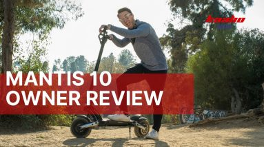 Riding an E-Scooter to Work Everyday | Kaabo USA Mantis 10 Review