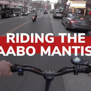 Riding in the City with the Kaabo Mantis 8 | Ride Along