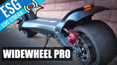Scooter Chat #20 - WideWheel Pro w/ CEO Fluid Freeride + Your Questions