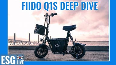 Fiido Seated Scooter Deep Dive + EMOVE Cruiser Giveaway Winner Announced! | Live Show #63