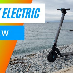 Levy Scooter Review 🛴 - Removable Batteries and First Ride 🚲🛵🚗👉