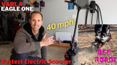 The Fastest Electric Scooter Ever | Varla Eagle One
