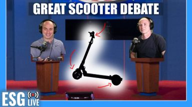 The Great Electric Scooter Debate | Live Show #59
