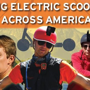 The Scooter Crossing Documentary- 4000 Miles, 10 States, 18.6 MPH