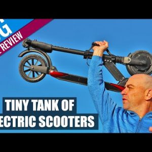 Tiny Tank of Electric Scooters | Uscooter Booster V / S+ Sport Review