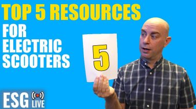Top 5 Resources for Scooters | Live Show #52