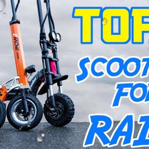 Top 5 Scooters for the Rain | Check Yourself Before You Wet Yourself