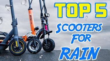 Top 5 Scooters for the Rain   Check Yourself Before You Wet Yourself
