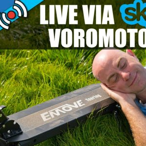 VOROMOTORS LIVE + FEATURED SCOOTER EMOVE TOURING - ESG Live with Chuck Temple #27