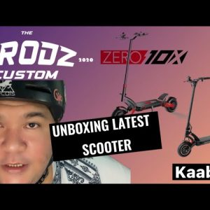 Unboxing the Latest  zero10x scooter and upgraded kaabo mantis 10 pro