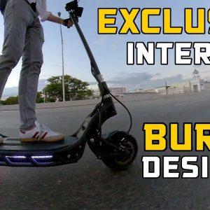 NAMI BURN-E, ESG Exclusive Interview with BURN-E Scooter Designer Michael Sha