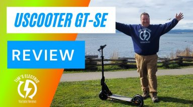 Uscooter GT SE   Electric Scooter Review Filmed in 4K - Big Guy Review