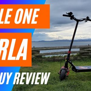 Varla Eagle One Electric Scooter Review -  Big Guy Review   4K