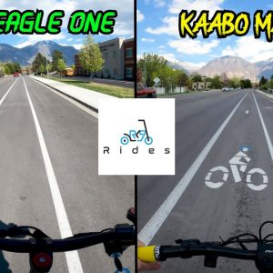 Varla Eagle One & Kaabo Mantis Side-By-Side Full Ride