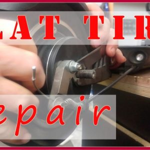 How to fix a flat tire on an Electric Scooter - Flat Tire Repair on Zero 9