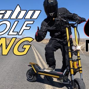 We bought a 60 mph Escooter to review: Kaabo Wolf King