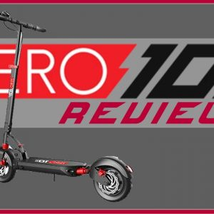 Zero 10 Review - Electric Scooter Zero 10 Big Guy Review