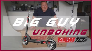 Zero 10 Unboxing - Electric Scooter Unboxing - Epic Fail!