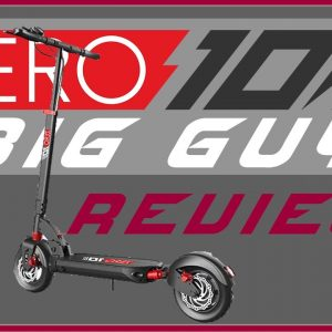 Zero 10X Electric Scooter Review - Big Guy Reviews Zero 10X
