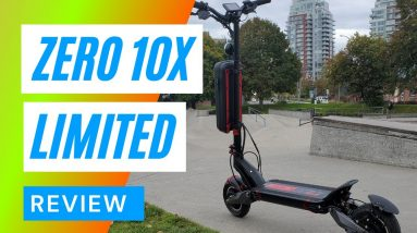 Zero 10X Limited Big Guy Review - Electric Scooter Review
