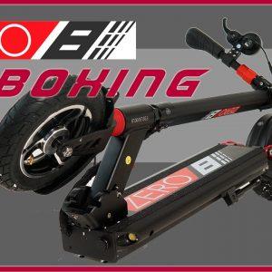 zero 8 scooter unboxing