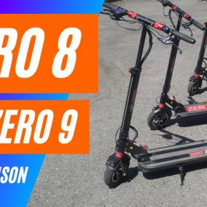 Zero 8 vs Zero 9 - Electric Scooter Comparison