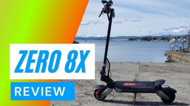 Zero 8x Review - Electric Scooter Review Zero 8x - Big Guy Review