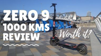 Zero 9 Electric Scooter Review - 1000 Kms - Zero 9 Review