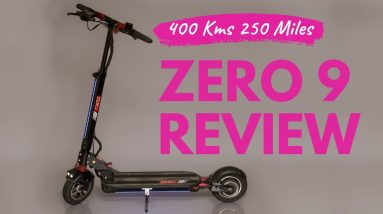 Zero 9 Electric Scooter Review 400 Kms Later