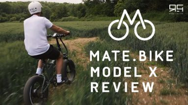MATE X 750W Electric Bike Review - This bike has some go!