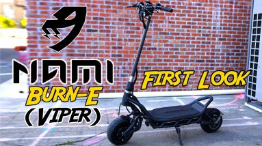 Nami Burn-E (Viper) First Look: Is the Burn-E Our Favorite Scooter Ever?