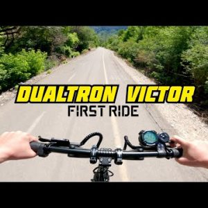 New Dualtron Victor First Ride! Flying at Over 40 MPH