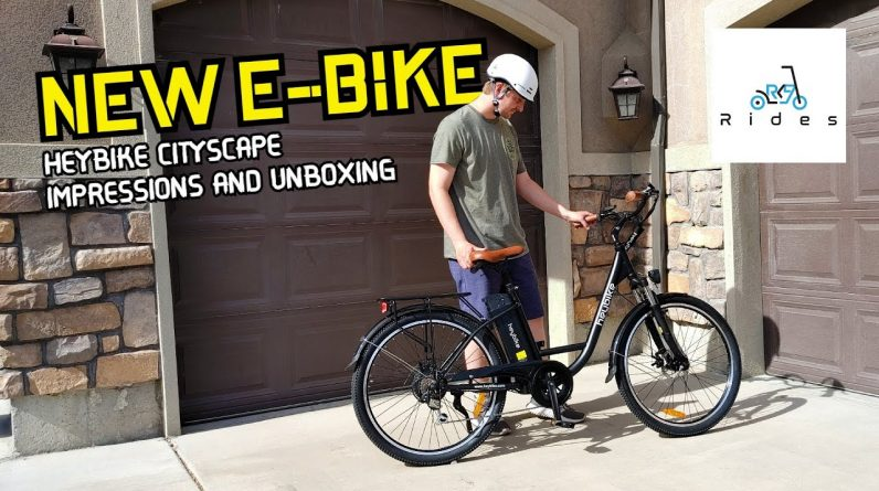 Tons of Features, Only $850! HeyBike Cityscape E-Bike Impressions and Unboxing