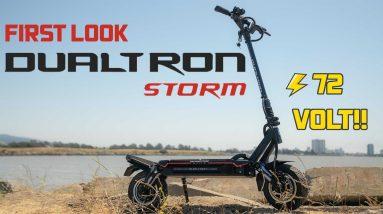 Minimotors Dualtron Storm, Masterpiece of Mayhem :Dualtron Storm First Look
