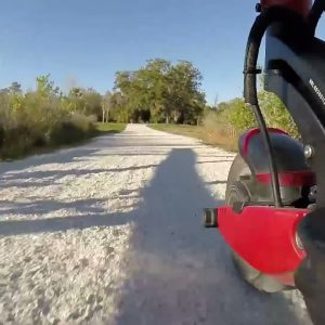 The ride is smooth as butter | Varla Eagle One Scooter