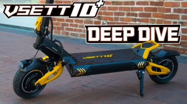 VSett 10 +  Electric Scooter Deep Dive, Does It Live Up To The Hype? | Liveshow #94