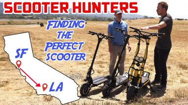 Scooter Hunters: Cross-Country Rider Finds the Perfect Scooter to Ride from SF to LA