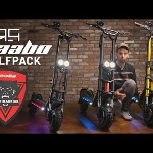 """The Wolfpack! Comparing the """"Wolf Warrior"""" range from Kaabo!"""