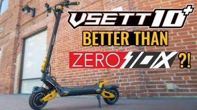 VSETT 10 + Better than Zero 10X?! | VSETT 10 + Electric Scooter Full Review