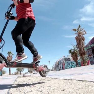 Electric Scooter Wheelie | Varla Eagle One
