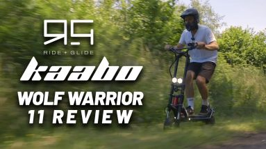KAABO Wolf Warrior 2 Electric Scooter Review