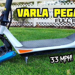 One of My Favorite Scooters of the Year! Varla Pegasus Full Review