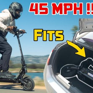 45MPH Electric Scooter That Fits In Your Trunk! | Minimotors Dualtron Victor Full Review