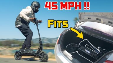 45MPH Electric Scooter That Fits In Your Trunk!   Minimotors Dualtron Victor Full Review
