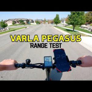 Varla Pegasus Range Test + Speed & Off-Road Test