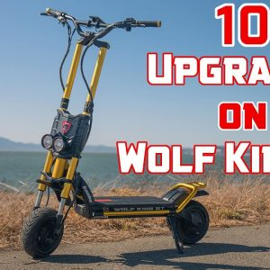 Kaabo Wolf King GT Deep Dive | 10 Great Upgrades for the Wolf King GT Liveshow #75
