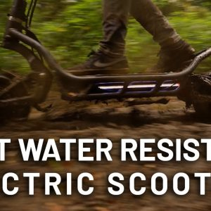 NAMI Burn-e  best waterproof off-road scooter on the market? Check it out here!